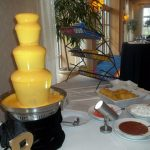 nacho cheese fountains